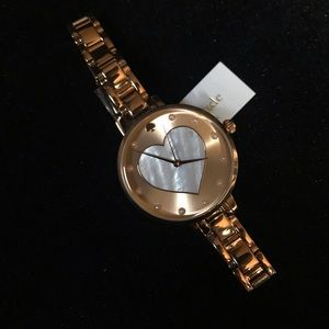 Kate Spade Rose Gold Heart Watch